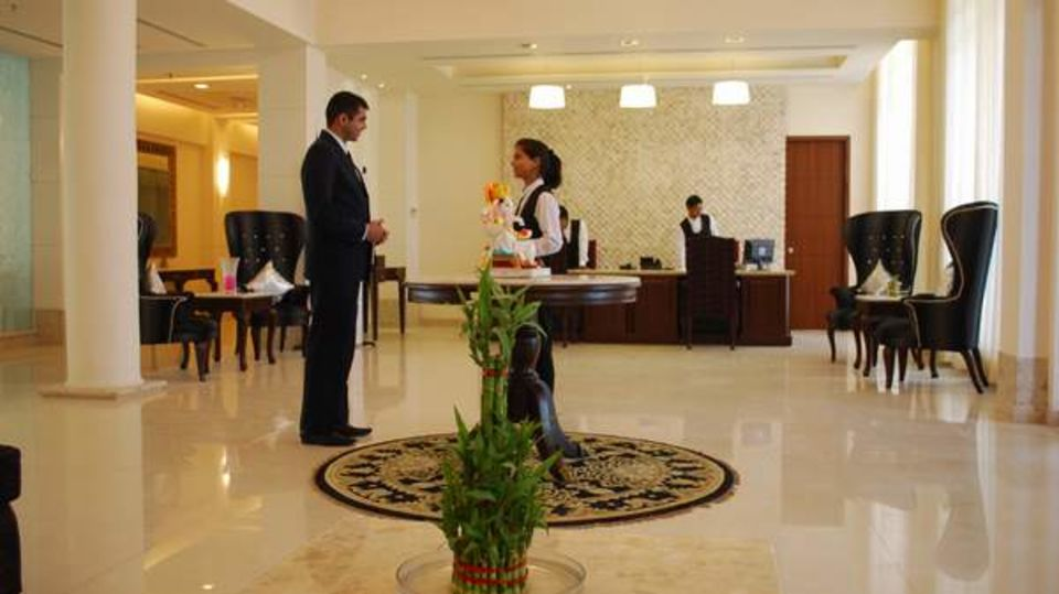 Lobby Ambrosia Sarovar Portico Haridwar 3
