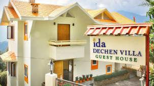 IDA Dechen Villa Hotel, Gangtok Gangtok facade IDA Dechen Villa hotel Gangtok Sikkim