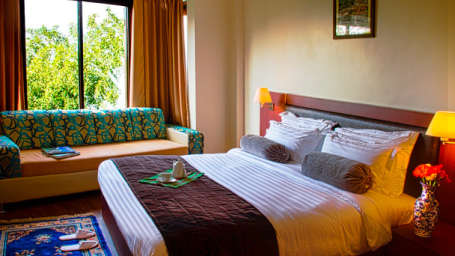 IDA Dechen Villa Hotel, Gangtok Gangtok super deluxe rooms IDA Dechen Villa hotel Gangtok Sikkim