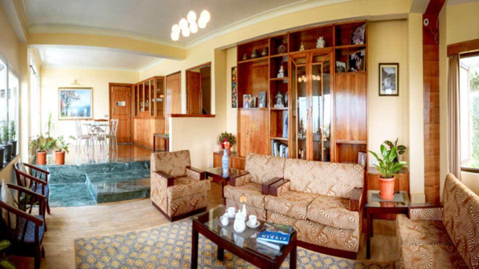 IDA Dechen Villa Hotel, Gangtok Gangtok lobby IDA Dechen Villa hotel Gangtok Sikkim