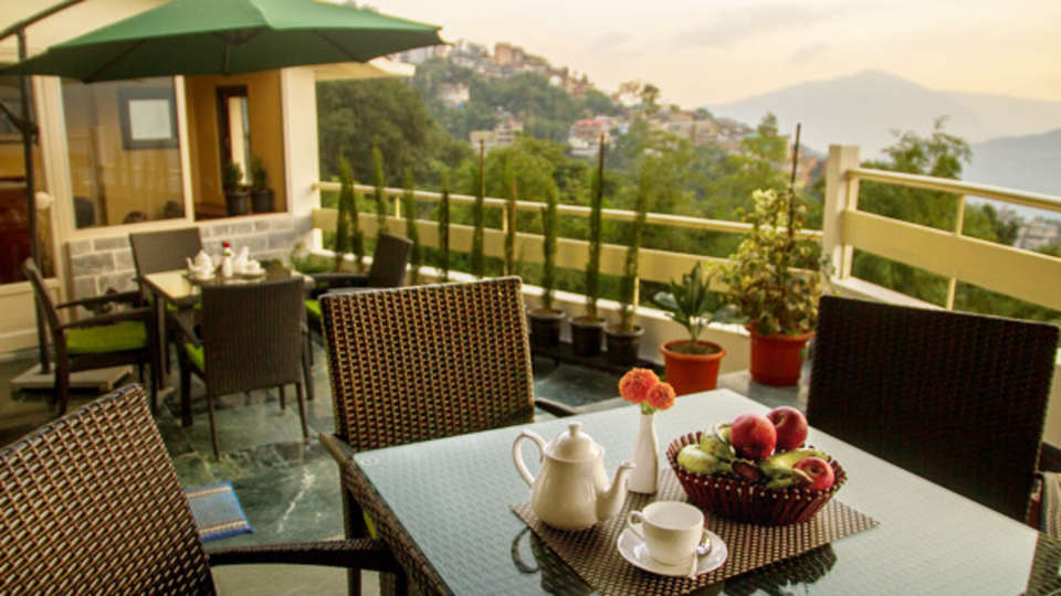 IDA Dechen Villa Hotel, Gangtok Gangtok restaurant IDA Dechen Villa hotel Gangtok Sikkim