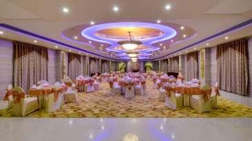 Banquet Hall at Nidhivan Sarovar Portico Vrindavan, vrindavan hotels with banquets 1