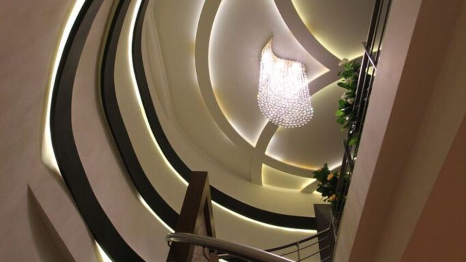 Hotel Hyderabad Grand, Shamshabad Hyderabad lobby Hotel Hyderabad Grand