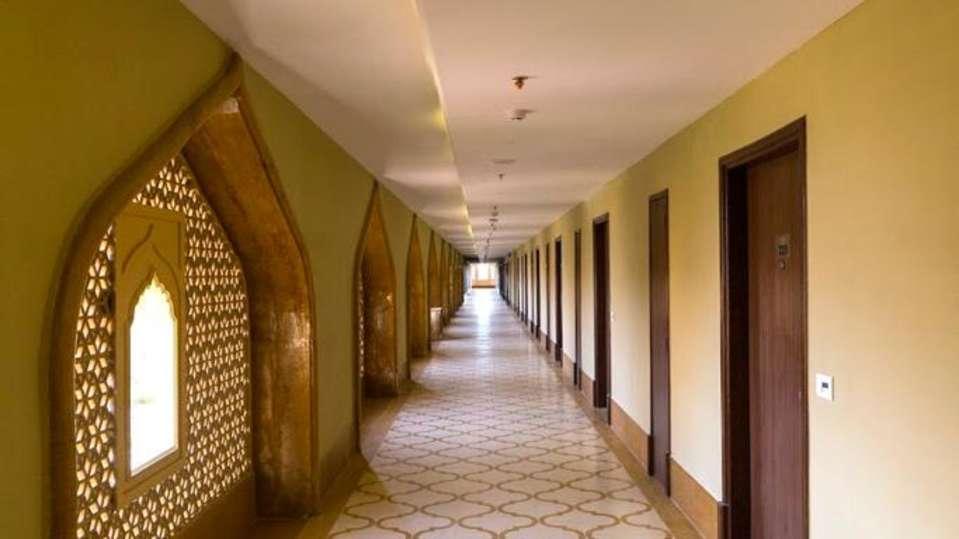 Corridor at Sairafort Sarovar Portico Jaisalmer