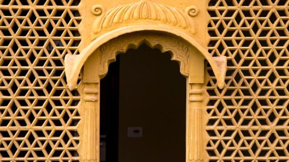 Heritage Window at Sairafort Sarovar Portico Jaisalmer