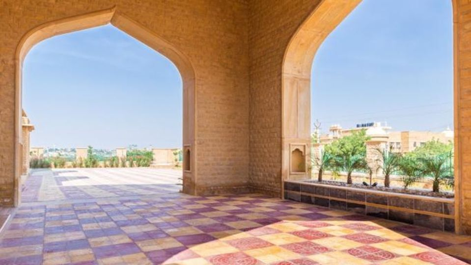 Main Porch at Sairafort Sarovar Portico Jaisalmer