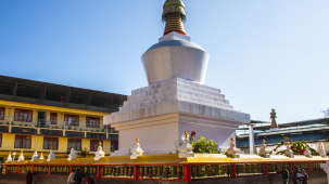 The Royal Oaks Hotels Gangtok  The Do-Drul Chorten Stupa