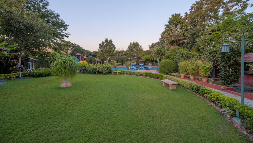 Party Lawn at Renest Shirdi