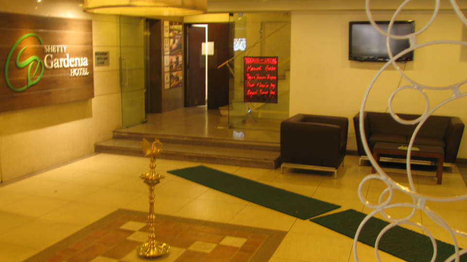 Shetty Gardenia Hotel, Bangalore Bangalore Reception