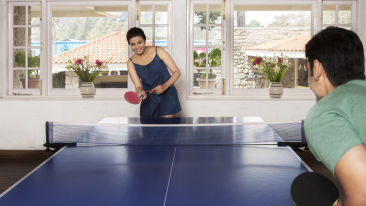 Table Tennis, The Carlton Hotel, Kodaikanal  Luxury Hotel