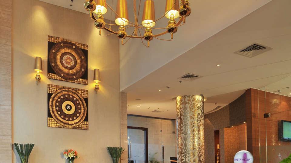 Reception Lobby Majestic Court Sarovar Portico Navi Mumbai 1