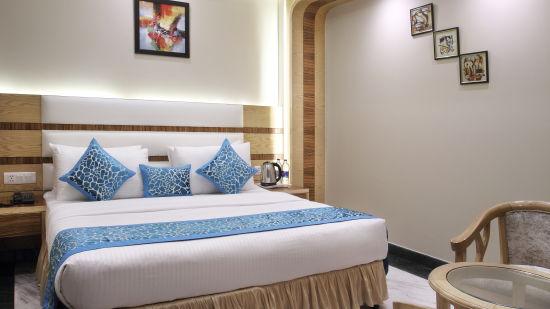 Hotel Hari Piorko - Paharganj, New Delhi New Delhi Executive Room New Wing Hotel Hari Piorko Paharganj New Delhi 4