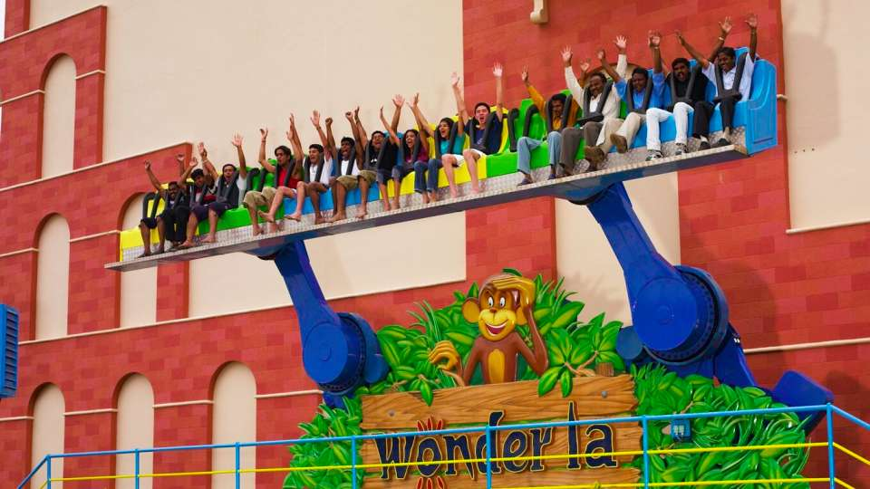 Thrillers Rides - Bamba at  Wonderla Amusement Park Bangalore