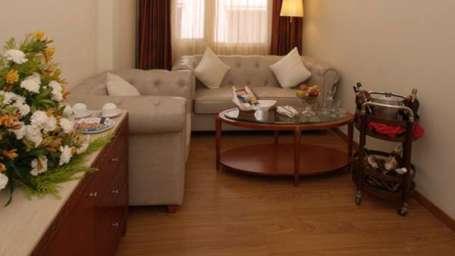 Hotel Paraag, Rajbhavan Road, Bangalore Bengaluru Executive Suite Sit-out Area Hotel Paraag Rajbhavan Road Bangalore
