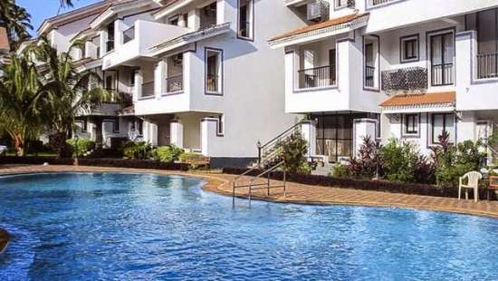 Casa Legend Villa & Serviced Apartments, Goa Goa 1BHK and Studio apartments adjacent to each other