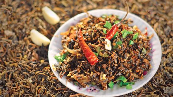 Gundruk - Must try food in Darjeeling
