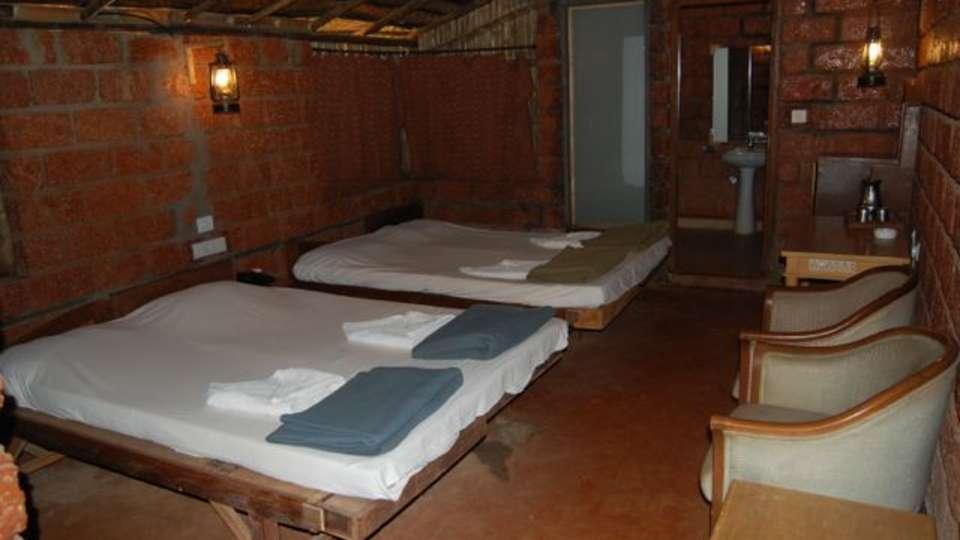 Lotus Beach Resort, Murud Beach, Ratnagiri Ratnagiri Lotus Bamboo Cottage - 1 Lotus Beach Resort Murud Beach Ratnagiri