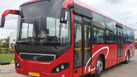 Volvo Bus - Wonderla Amusement Park Bangalore