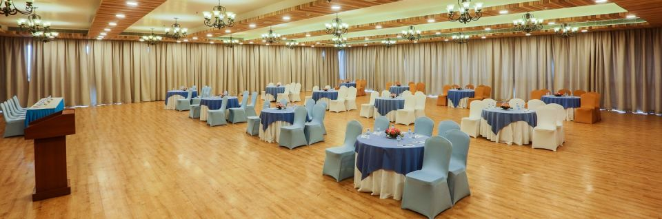 The mansion banquet hall at Asia Resorts Parwanoo
