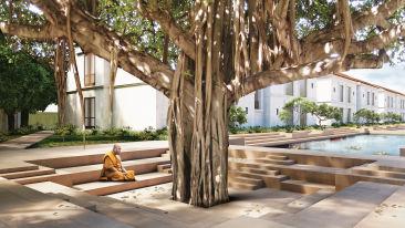 Yoga Area, Marasa Sarovar Premiere Bodhgaya, Hotels in Bodhgaya