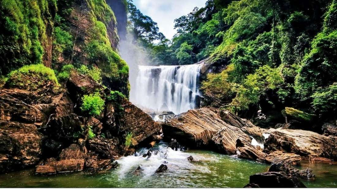 Sathodi Falls, Dandeli, Karnataka