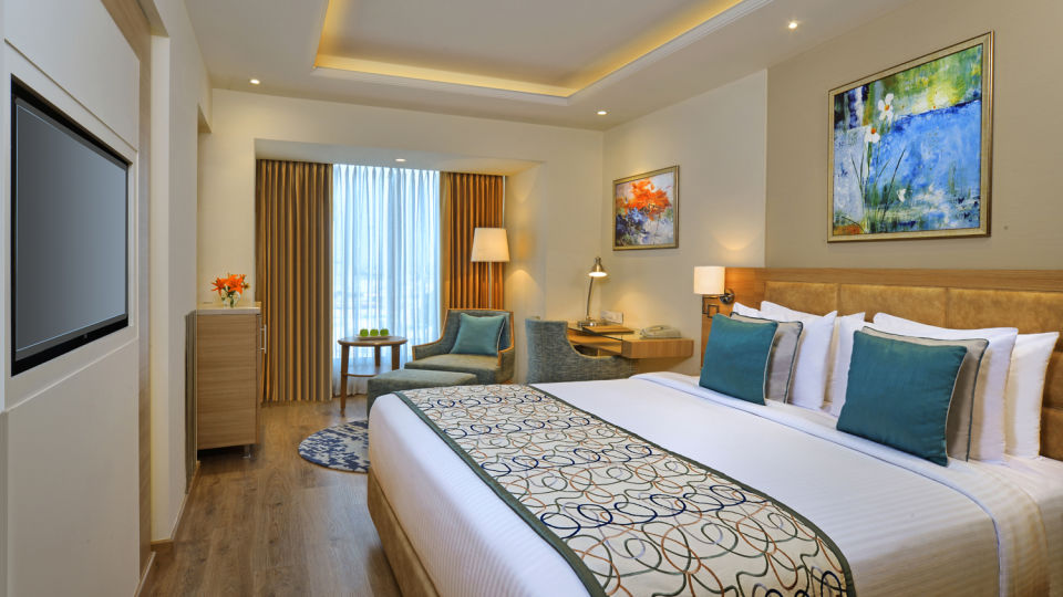 hotel Rooms in Amritsar at Golden Sarovar Portico Amritsar