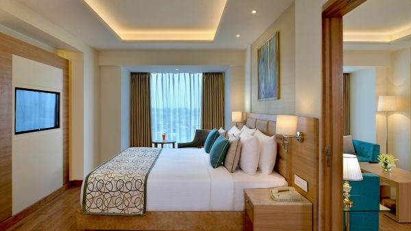 Suite Bedroom at Golden Sarovar Portico Amritsar