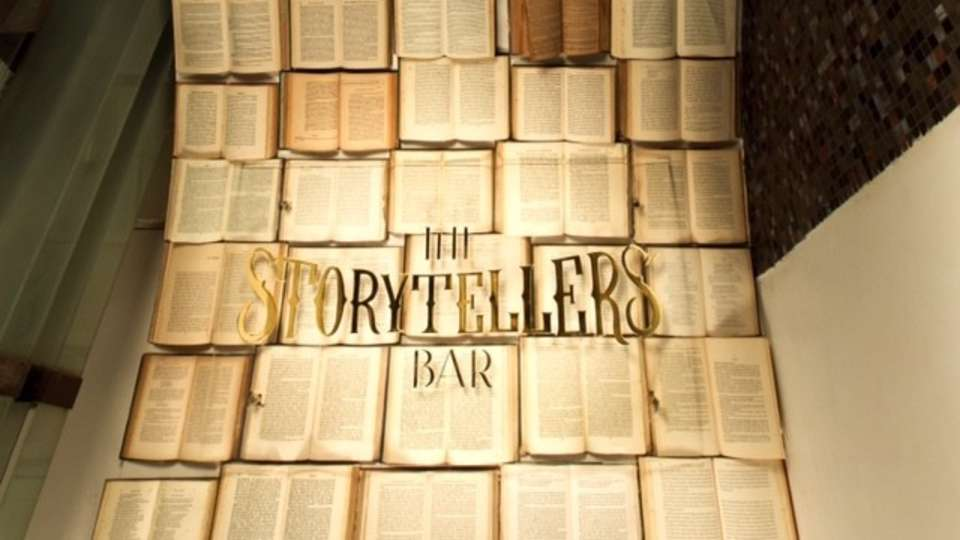 Story Teller bar Entrance The Promenade Pondicherry