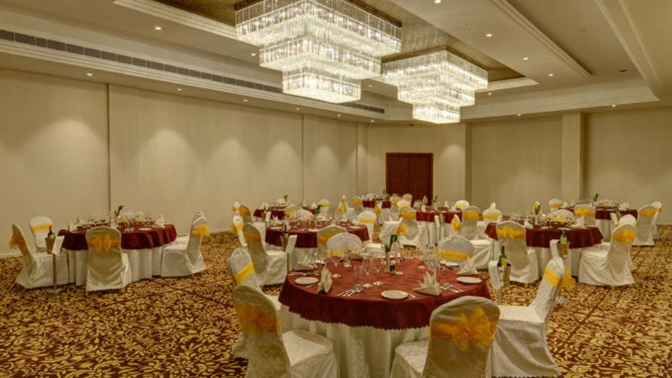 Choupal Hall Ramada Resort Kumbhalgarh Kumbhalgarh Banquet Hall