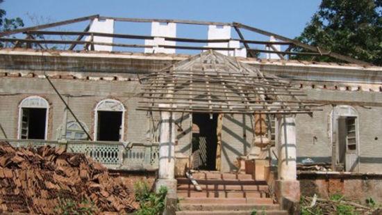 1 Front view Arco Iris - 19th C Curtorim Goa