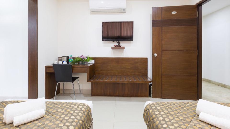 The Sanctum Suites, Bangalore Bangalore Standard Twin Room 1 The Sanctum Suites Bangalore