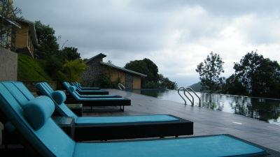 Pool at Poetree Sarovar Portico Thekkady, idukki hotels,Kerala Resorts, Thekkady Hotel 46
