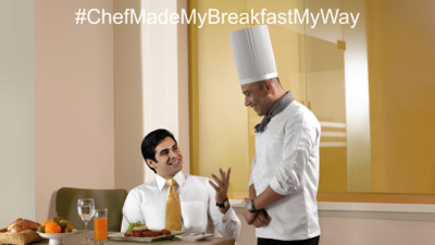 Chef made breakfast my way, Happiness offers @ Sarovar Hotels - India s Leading Hotel Chain,  Top hotels in India