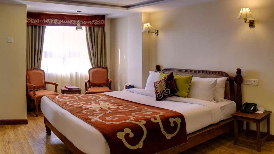 Deluxe Room at Summit Hermon Hotel Spa Darjeeling 3