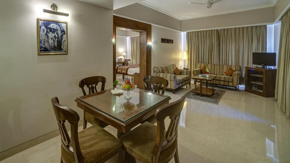 Living Area Suite Room at Renest shirdi 1