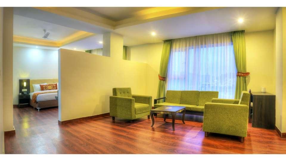 Suite at Summit Denzong Hotel Spa Gangtok 3