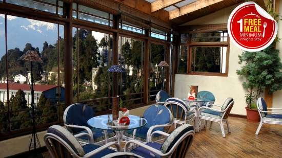 Central Heritage Resort & Spa, Darjeeling Darjeeling heritage free meal