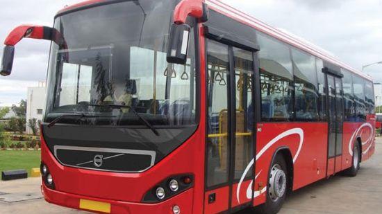 Volvo Bus - Wonderla Amusement Park Bengaluru