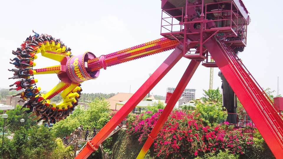 Thrillers Rides - Equinox at  Wonderla Amusement Park Bangalore