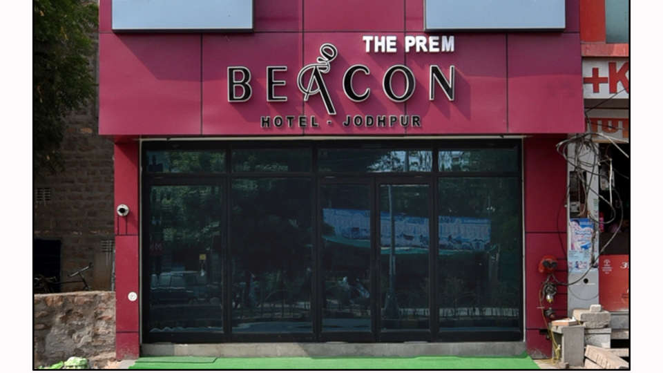 Facade of The Prem Beacon Hotel Jodhpur