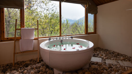 Spa Area at Larisa Mountain Resort in Manali - Boutique Hotels in Manali