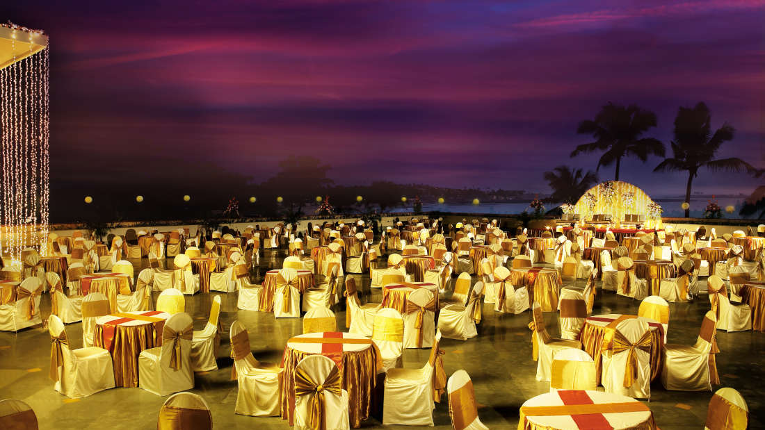 banquet hall in Madh Island at The Retreat Hotel and Convention Centre Madh Island Mumbai