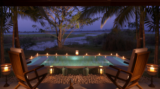 The Residence Jacuzzi, The Serai Kabini, Resorts in Kabini, Luxury Resorts In Kabini 1