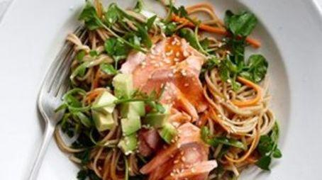 Evoma - Business Hotel, K R Puram, Bangalore Bangalore Smoked-salmon-and-soba-noodle-salad-recipe