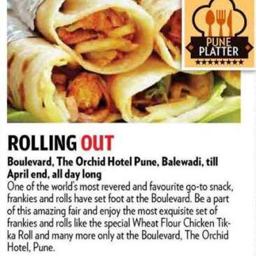 Print Media Coverage, The Orchid Hotel, Best Hotel In Pune 1
