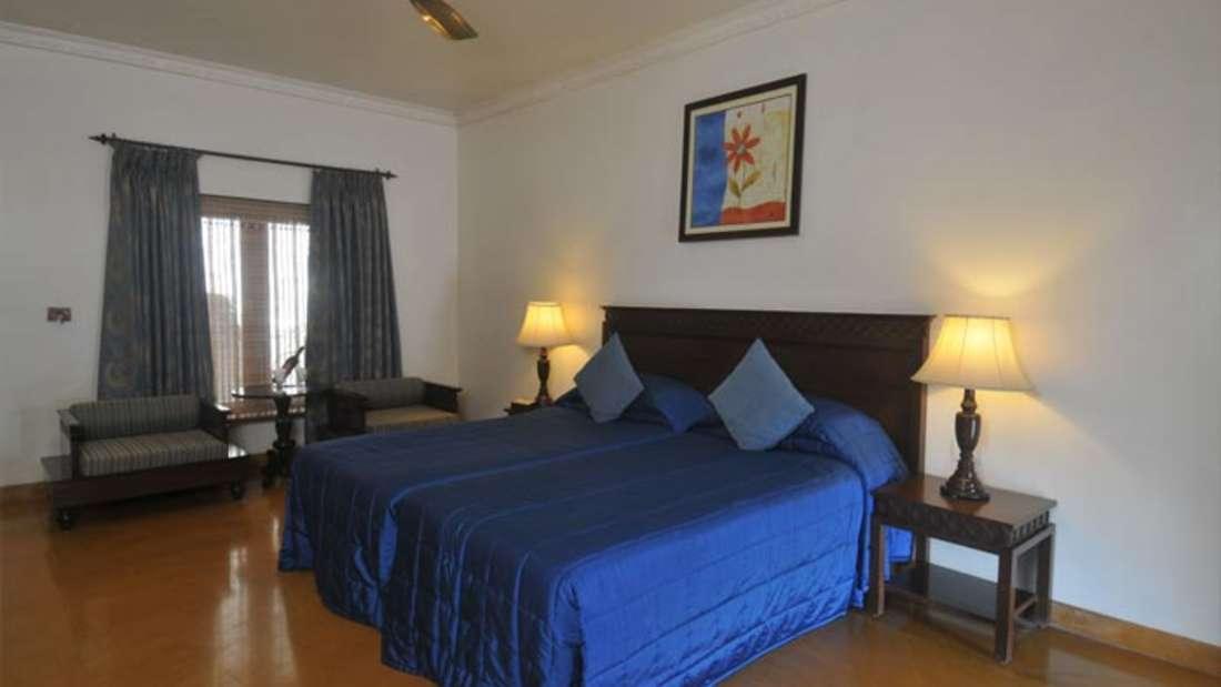 Deluxe Room of  Fort Jadhavgadh Heritage Resort Hotel Pune