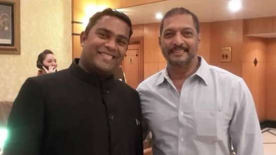 Nana Patekar at The Orchid Hotel Mumbai