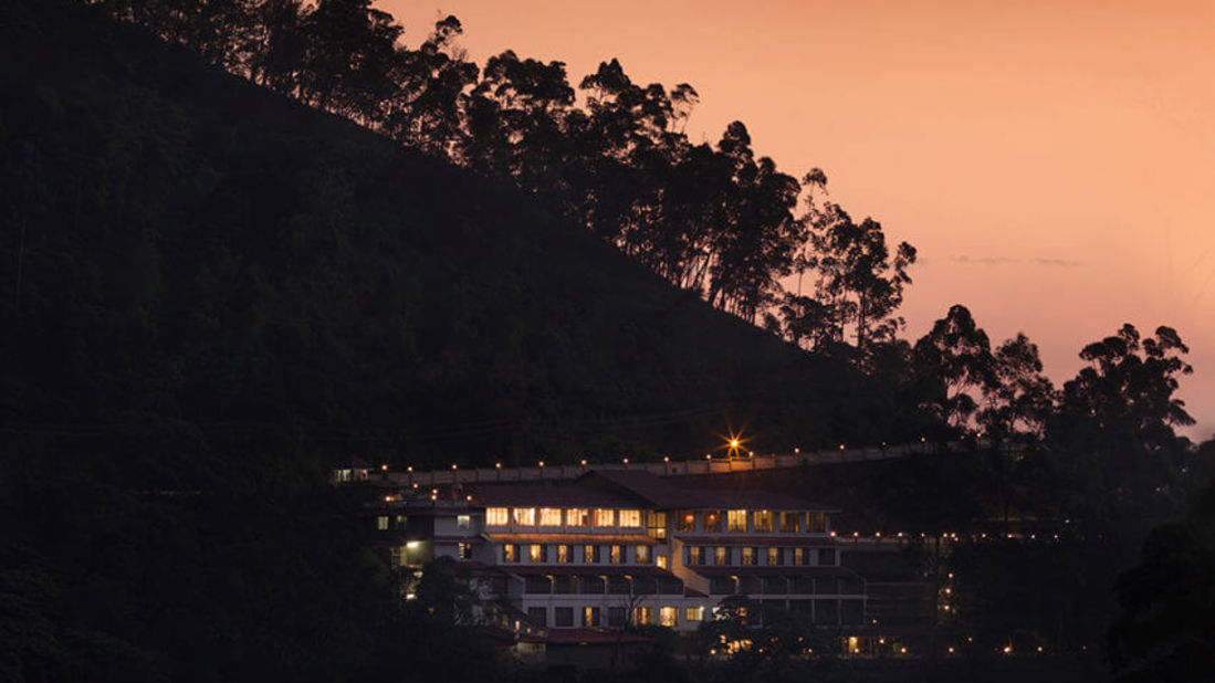 Aerial view of our resort in Munnar, Abad Copper Castle, Munnar-7
