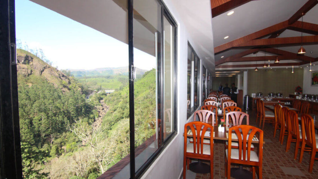 Best Restaurants in Munnar, Places to eat in Munnar, Abad Copper Castle, Munnar