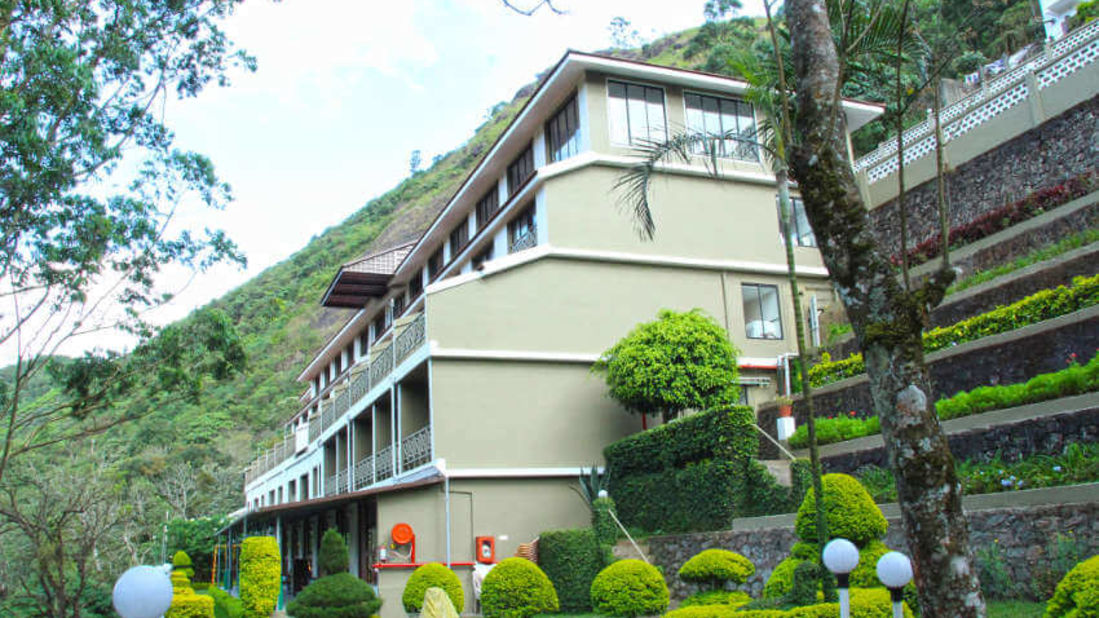 Facade of our resort in Munnar, Abad Copper Castle, Munnar-23